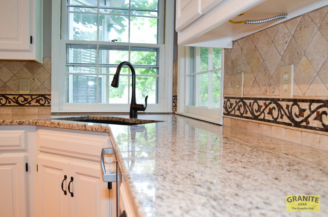 Granite Countertops & Custom Backsplash