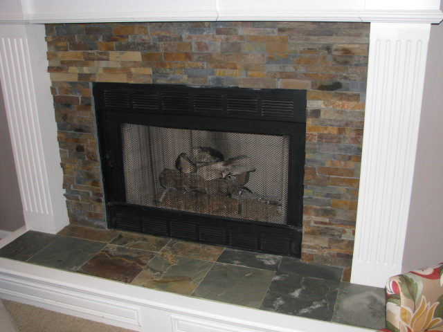 Slate Fireplace Surround Images