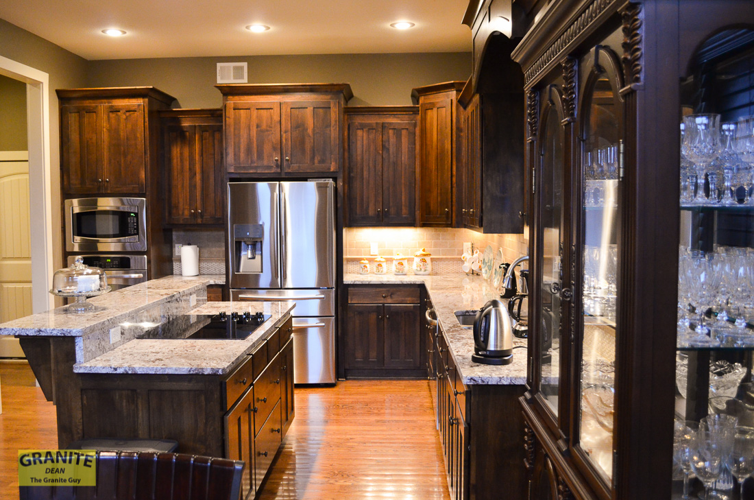 Backsplash & Granite Counter Tops