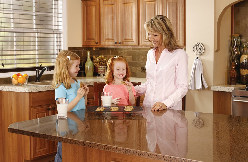 Granite Countertops and Kids