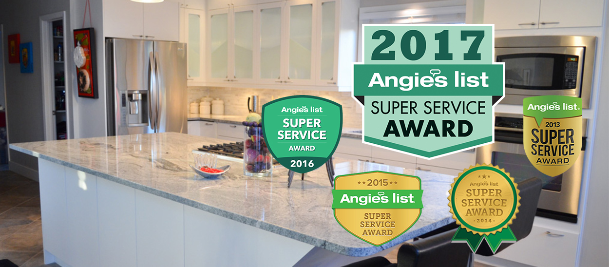 Angie's List Award Winner 2016, Four Years Running